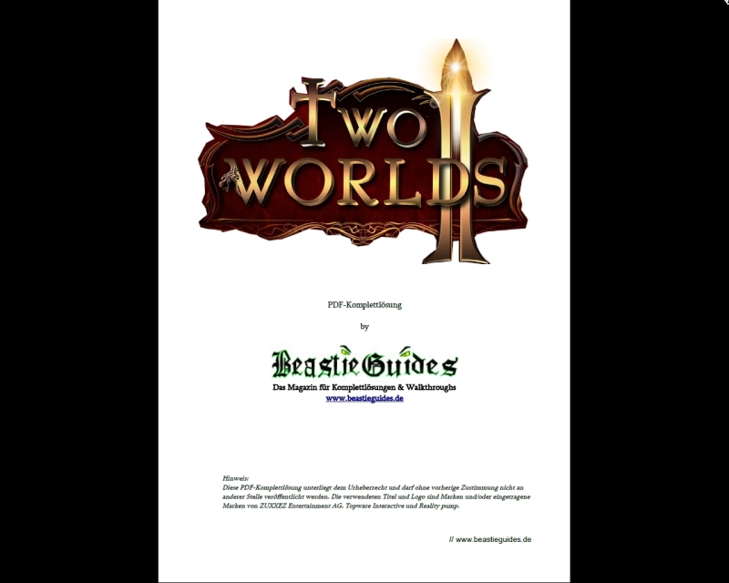 "<span itemprop=""name"">Two Worlds 2 – PDF-Guide</span>"