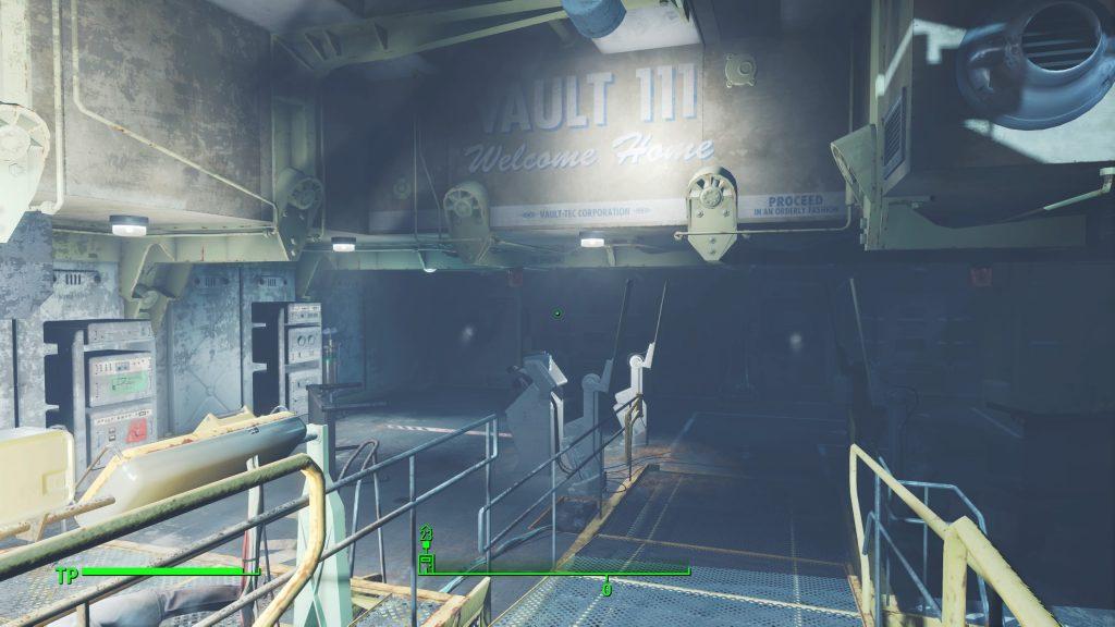Endlich: der Ausgang aus Vault 111