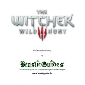 The Witcher 3 Wild Hunt Komplettlösung Beastieguidesde