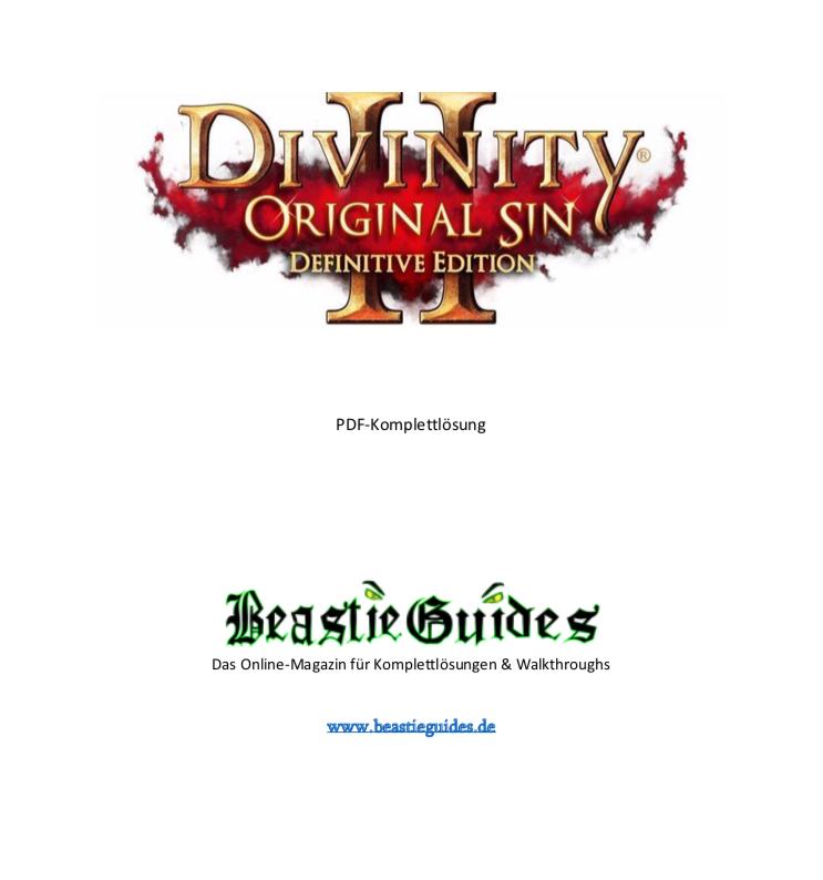 divinity original sin 2 lösung